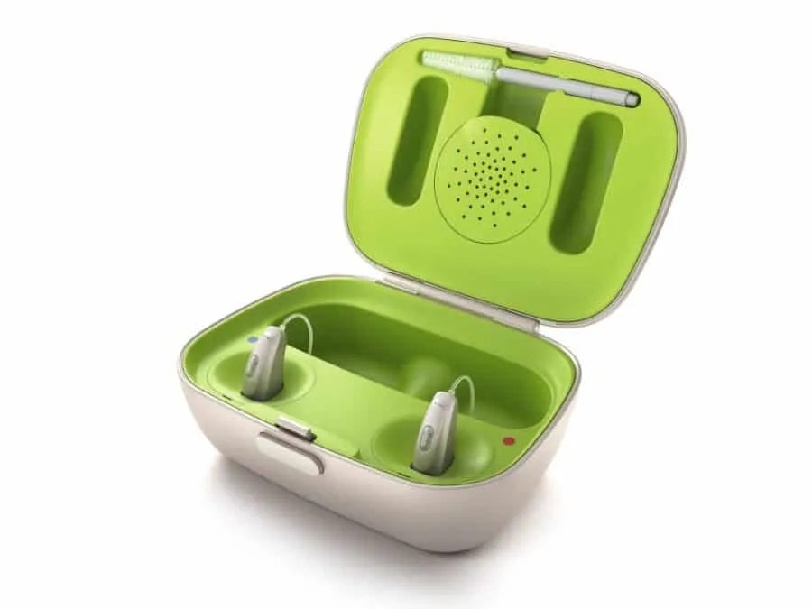 Focus on the conversation and freedom with rechargeable hearing aid