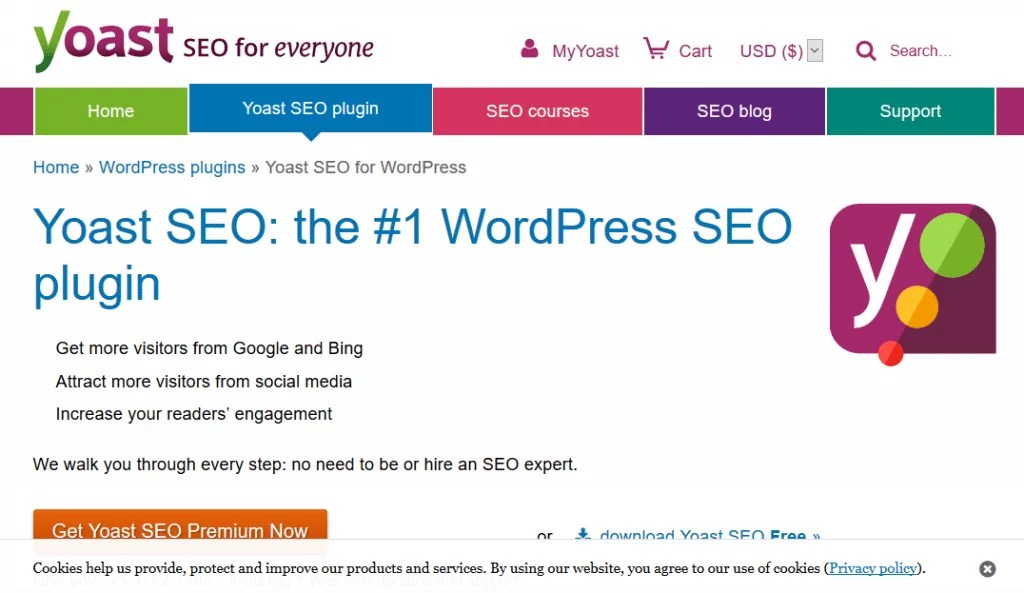 Yoast SEO Plugin do WordPress