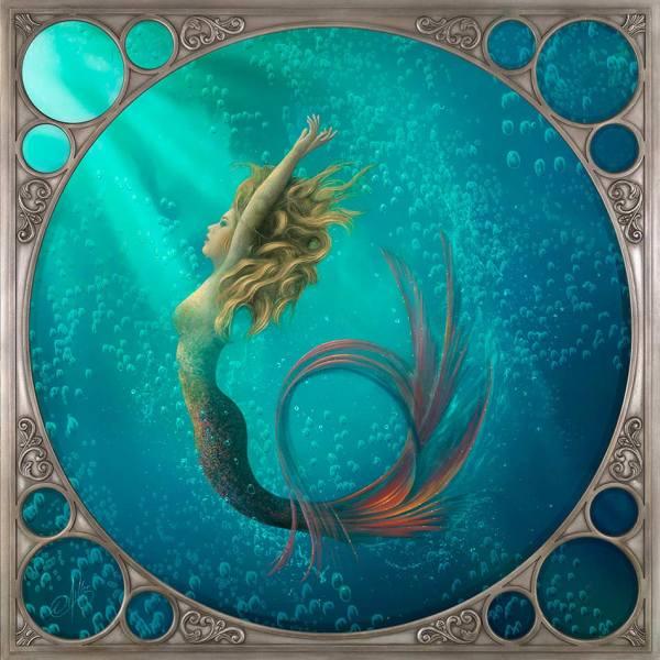 Mermaid Painting Artist David Miller