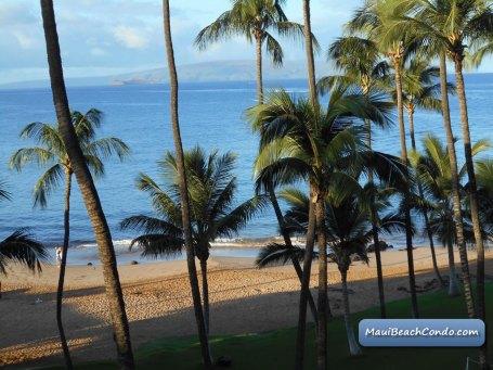 Lanai View to Beach