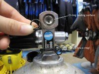 HOW TO CHANGE A TANK O-RING