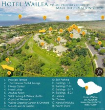 Map of Hotels in Wailea Maui Hawaii