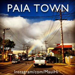 Paia Maui Map and Paia Town Information