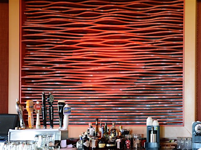 Red Bar Installation