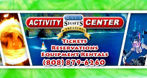 Activities and Tours, reservation and tickets for Maui