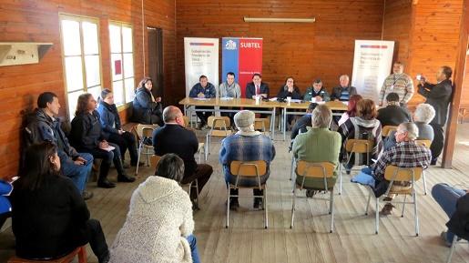 Gobierno realizará diálogos sociales en sectores rurales de la provincia de Talca