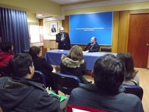 Autoridades presentaron al nuevo SEREMI del MOP en el Maule