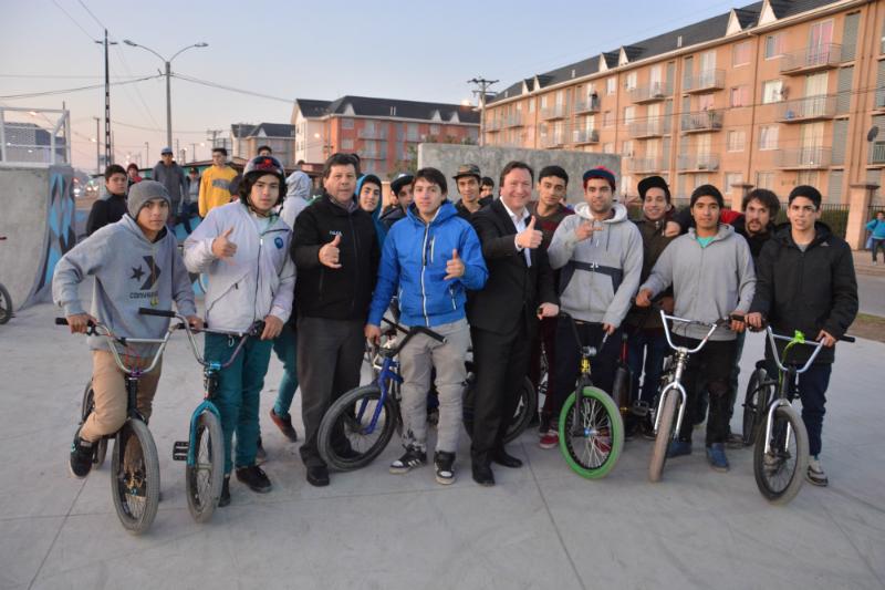 Inauguran primer bike park de Talca