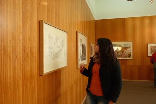 Exposición colectiva muestra Isla Robinson Crusoe tras el maremoto