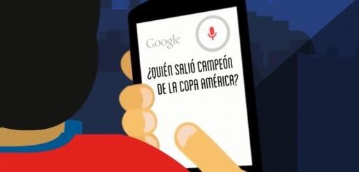 Google homenajea a Chile por su victoria en Copa América 2015
