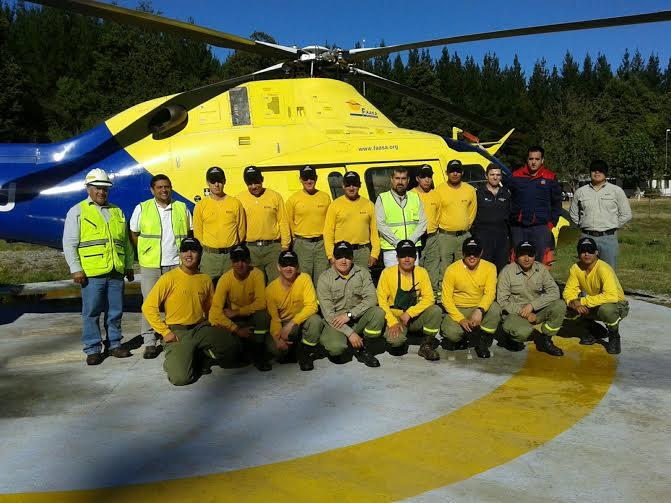 Arauco cierra positiva temporada de incendios forestales