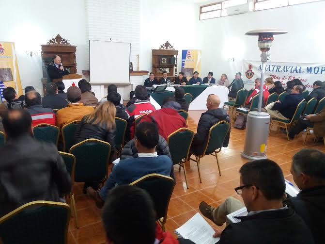 En Curicó se desarrolla Encuentro Nacional de Trabajadores de Vialidad