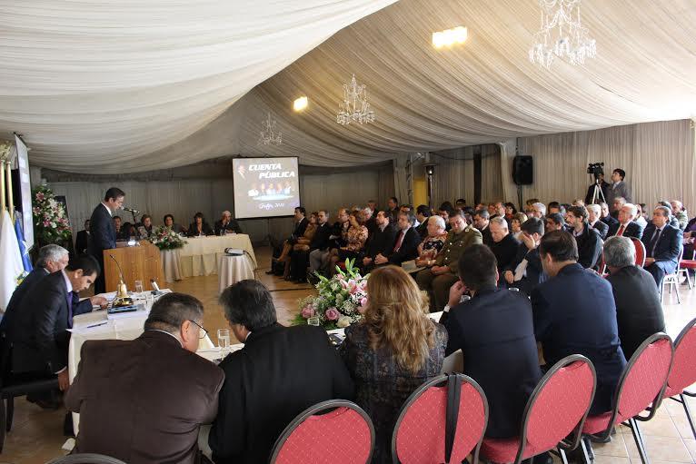 Municipalidad de Cauquenes entregó cuenta pública correspondiente al período 2015