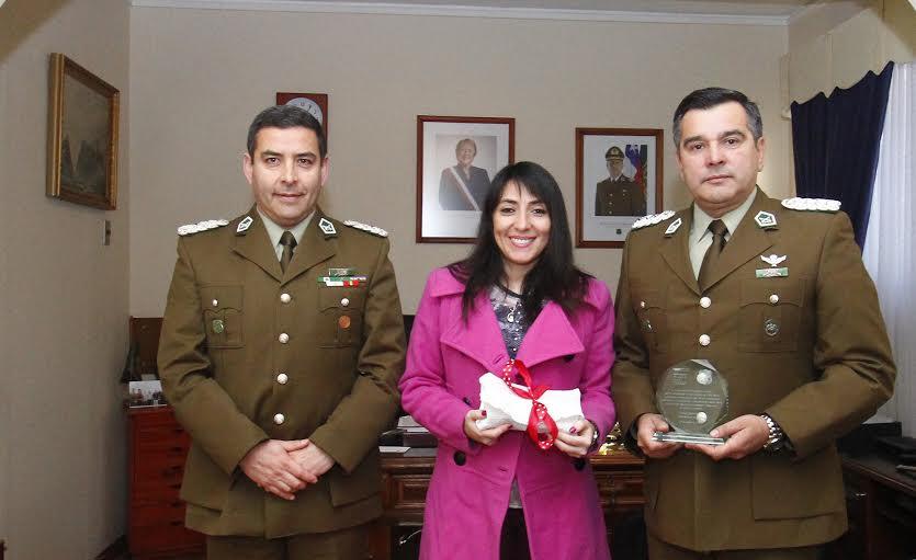 Gobernadora provincial saludó a de Carabineros de Chile en su 89 aniversario