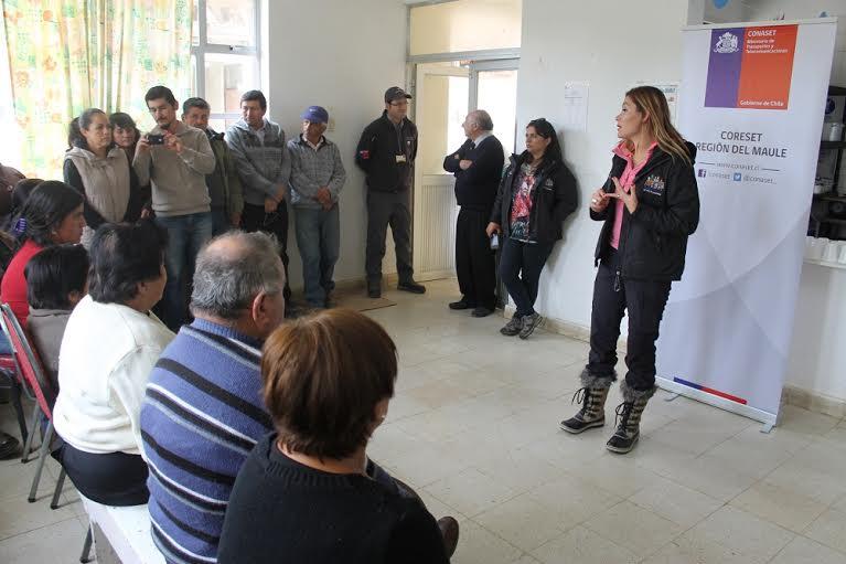 30 familias de la precordillera de Linares participaron de la plaza ciudadana Gobierno Presente
