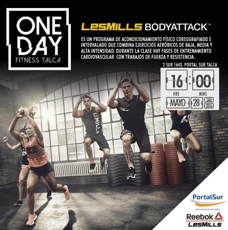 One Day Fitness se realizará este sábado en Talca