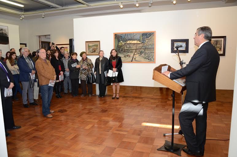 Obras de la Colección de Arte UTalca y del MuseoO'Higginiano se exhiben en Nueva Galería de Arte