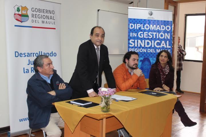Lanzan Escuela Sindical que otorga Diplomado en Gestión Sindical a Trabajadores del Maule