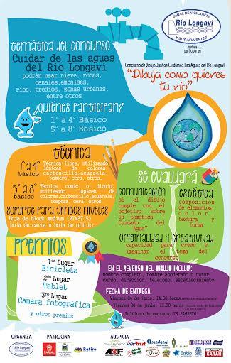 Longaví, Retiro y Parral: JVRL convoca al primer concurso de dibujoen el cuidado de las aguas de río y canales