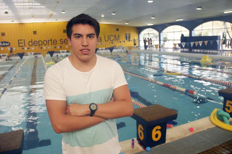 Nadador Talquino representará a la UCM en Sudamericano Universitario de Buenos Aires