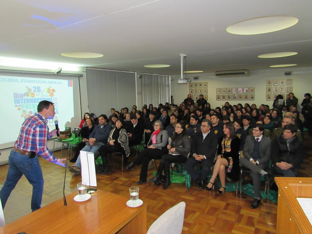 SENDA conmemoró el día internacional de la prevención del consumo de drogas