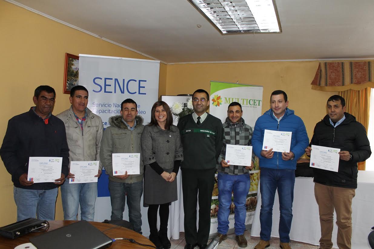 En Talca: internos del Centro de Educación y Trabajo Semiabierto de Gendarmería se capacitan con Sence