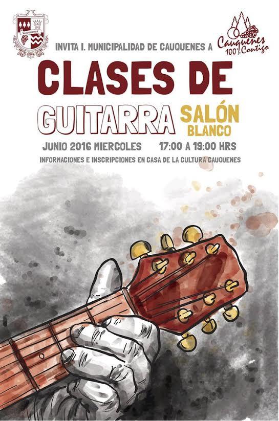 Municipalidad de Cauquenes realiza cursos de cueca y guitarra