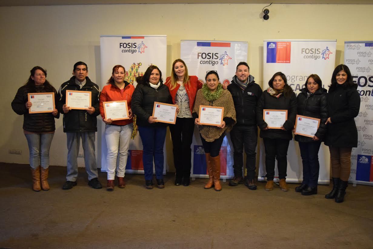 Emprendedores de Linares optimizan el manejo y distribución de sus recursos con asesoría del FOSIS