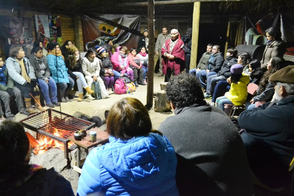 Intendente Meza y seremi de Desarrollo Social participan en We Tripantu junto a comunidad mapuche