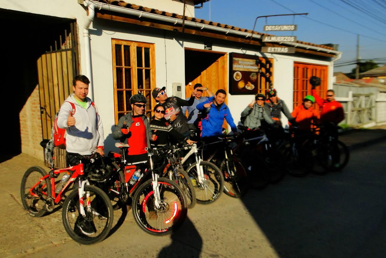 Ciclistas maulinos recorrerán todo el litoral regional