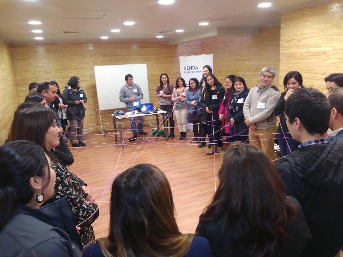 Taller de Habilidades Preventivas Parentales del SENDA se realizó en Talca y Curicó