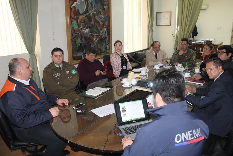 En la Provincia de Linares se realizó el lanzamiento de la plataforma Visor Ciudadano y Chile Preparado