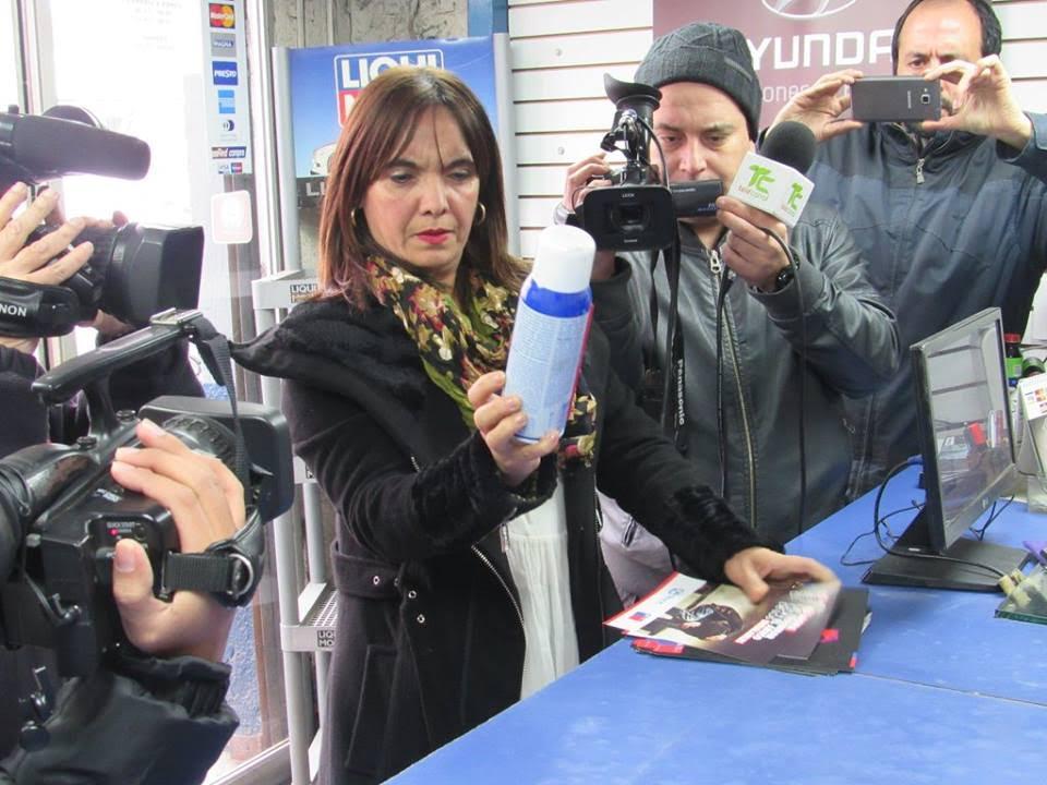 En el Maule se reforzó mensaje preventivo sobre la venta de sustancias inhalables a niños, niñas y adolescentes