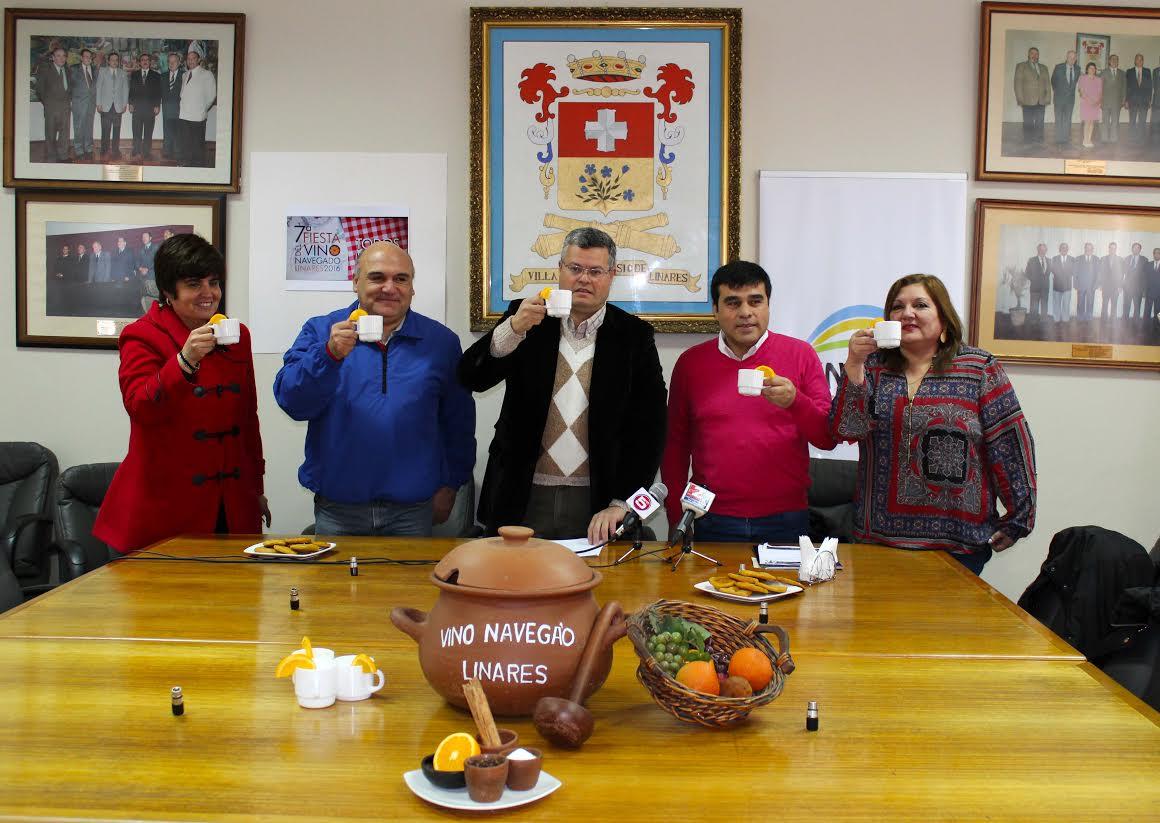 """Linares vivirá la 7ma versión de la """"Fiesta Nacional del Vino Navega'o"""""""
