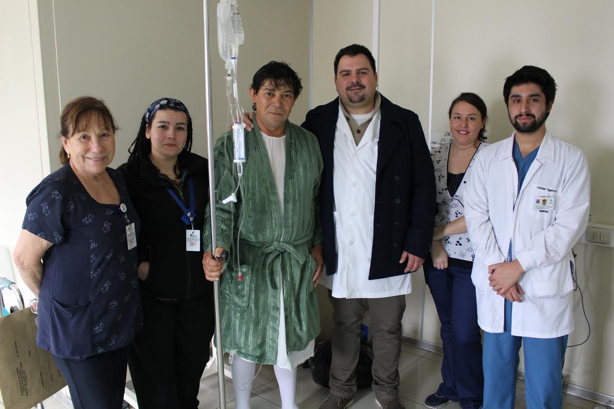 Estuvieron a punto de morir y agradecieron a urgencias del hospital Curicó por salvarles la vida