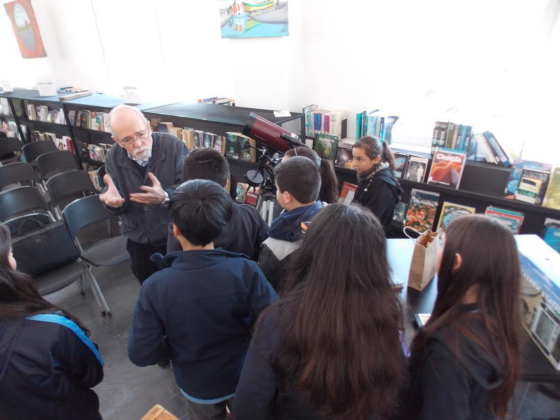 Niños de Licantén observarán fenómenos astronómicos y meteorológicos desde sus escuelas