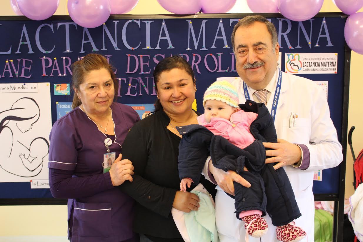 Exitosa mamatón se realizó en el hospital de Curicó