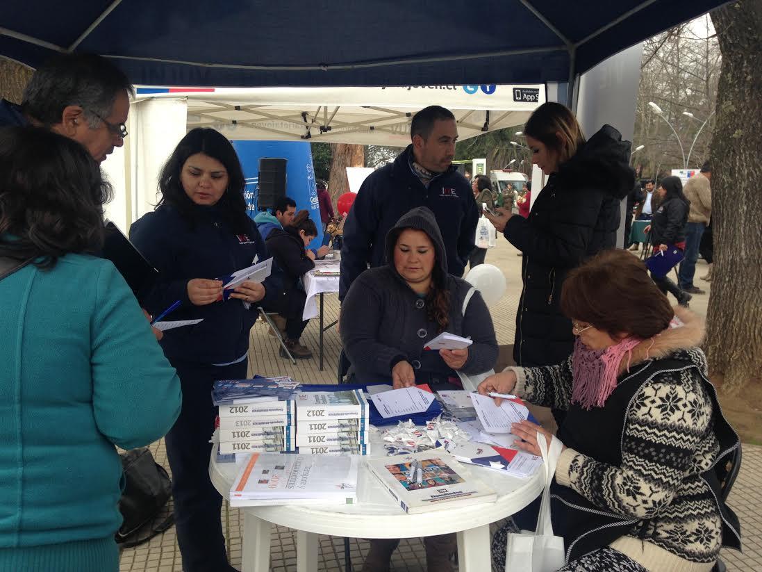 Más de 100 panimavidenses participaron del Gobierno Presente