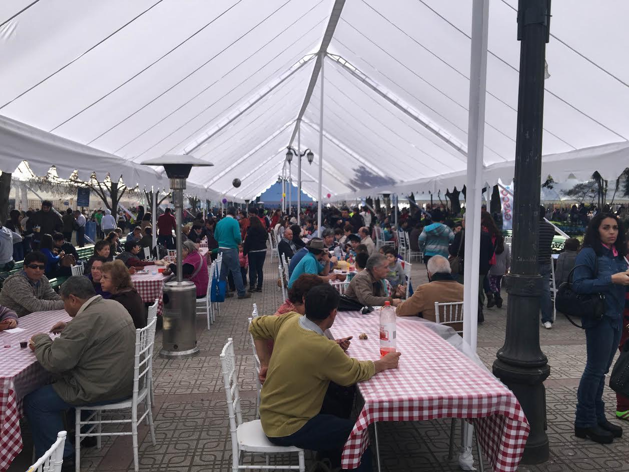 Más de 200 mil personas disfrutaron de la Fiesta Costumbrista del Chancho Muerto en Talca