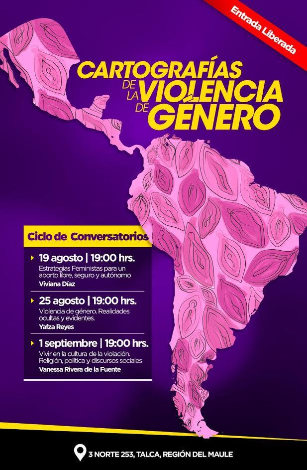 Ciclo de conversatorios sobre violencia de género se realizará en Talca