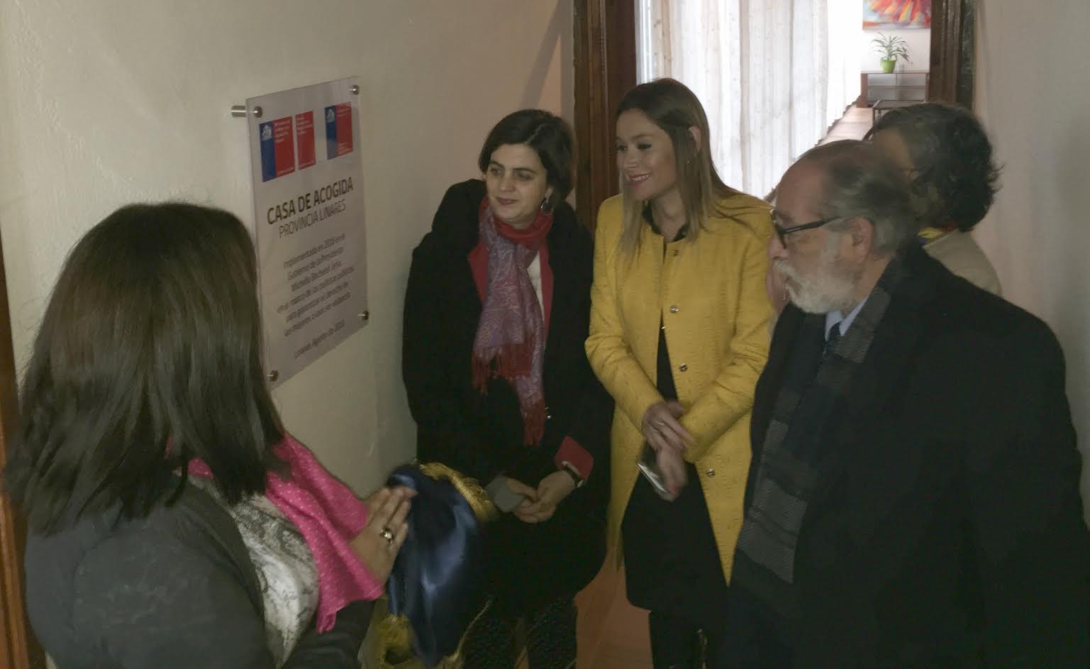 Provincia de Linares ya cuenta con Casa de Acogida para Mujeres