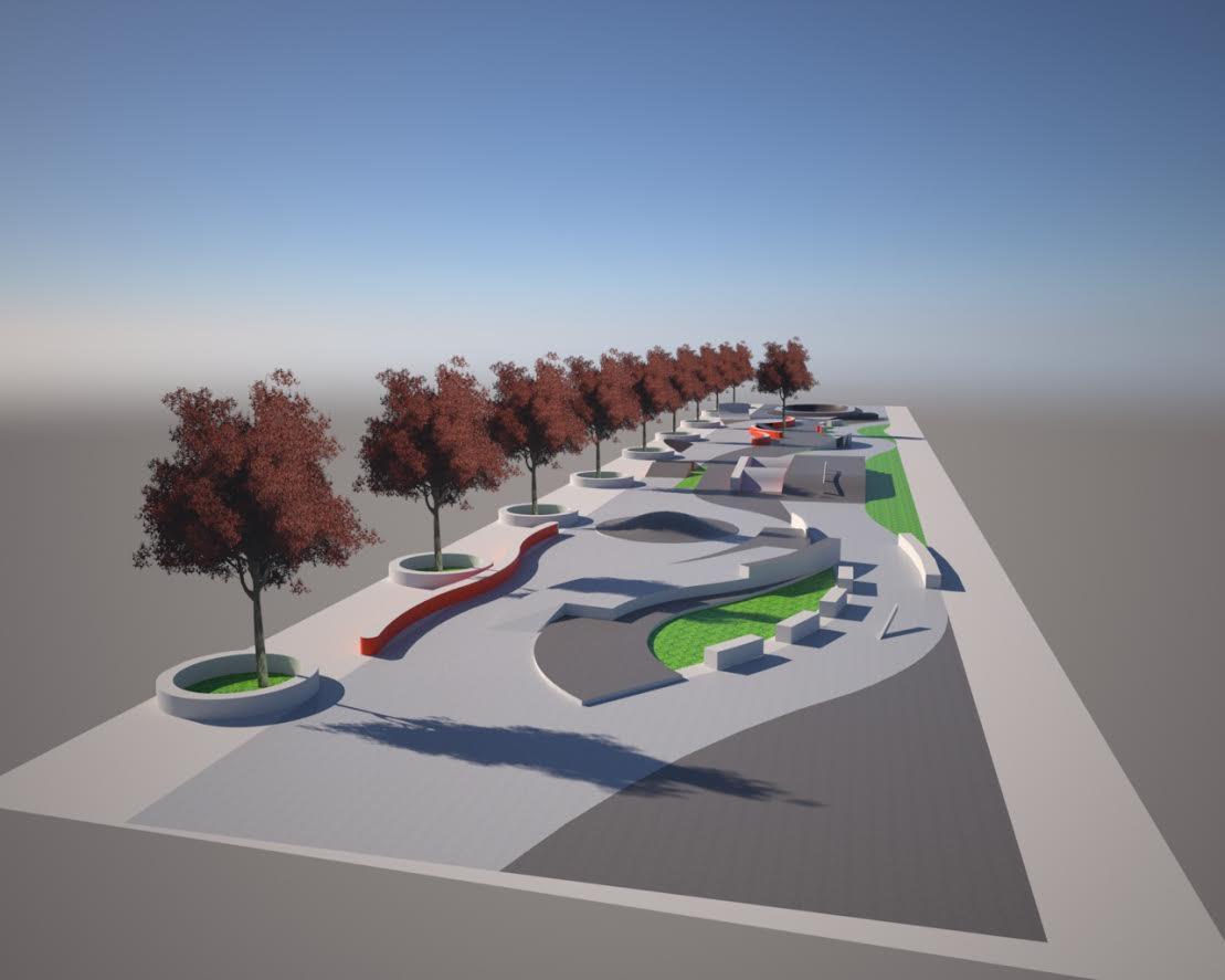 Municipalidad entrega respaldo a proyecto de Skate Plaza para Linares