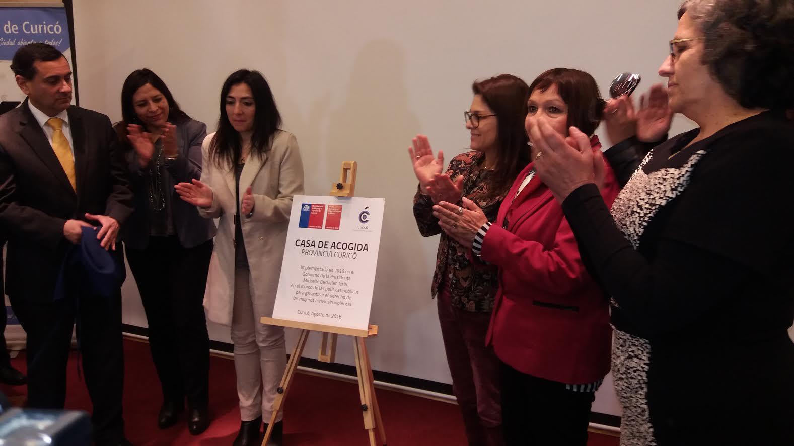 En Curicó inauguran nueva Casa de Acogida para mujeres que viven violencia extrema