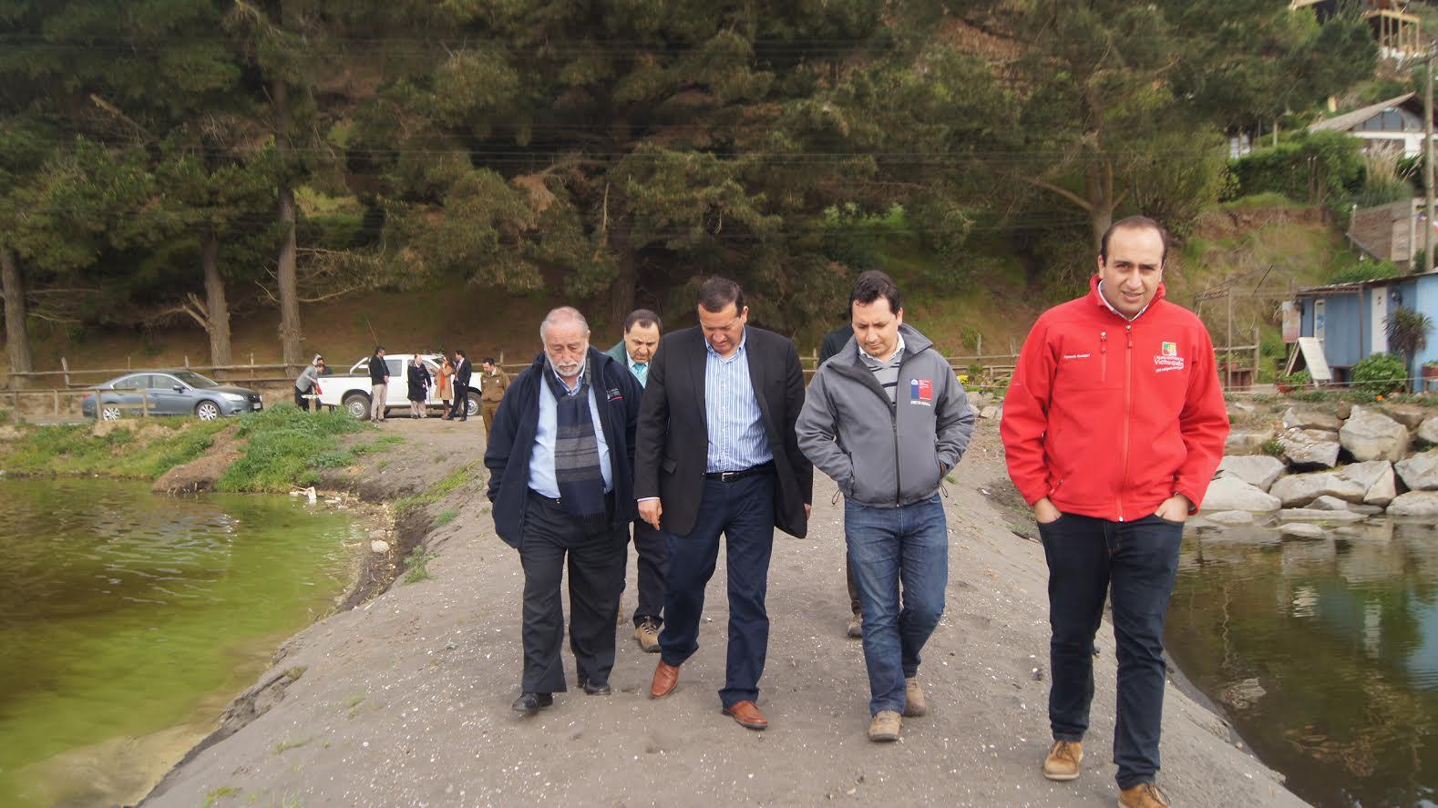 Gobierno estudia y regula desembocadura del Lago Vichuquén