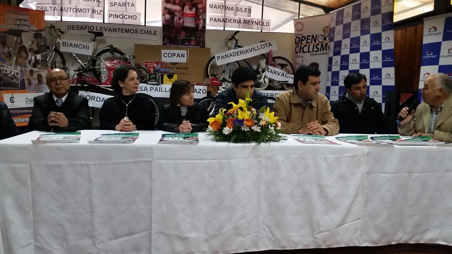 Escuela Especial D-8 de Curicó se prepara para la Versión N° 26 del Open de Ciclismo
