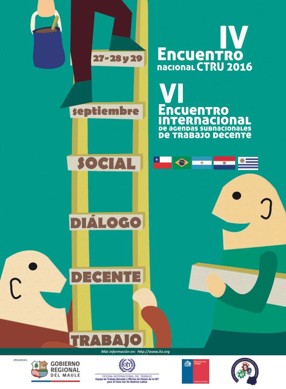Anuncian encuentro internacional de Agendas Subnacionales de Trabajo Decente en Talca