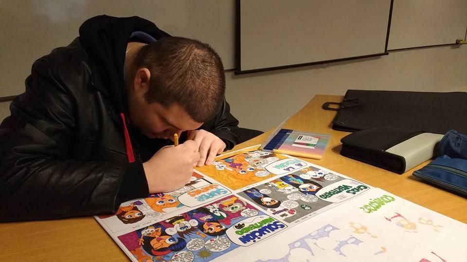 Libro de cómic recopilará aventuras de personajes de joven dibujante talquino