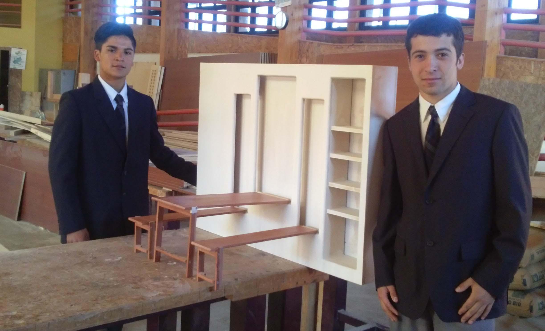 Estudiantes del Maule se lucen con innovadoras propuestas para viviendas de emergencia