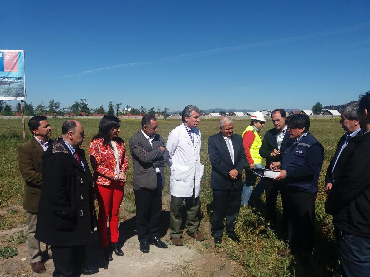 MOP hace entrega de terreno para construir el nuevo hospital de Curicó