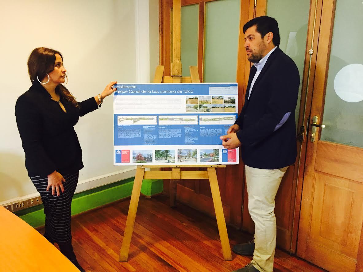 Adjudican obras de construcción del Parque Canal de La Luz de Talca